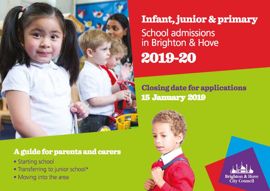 Schools Admissions 2019/20